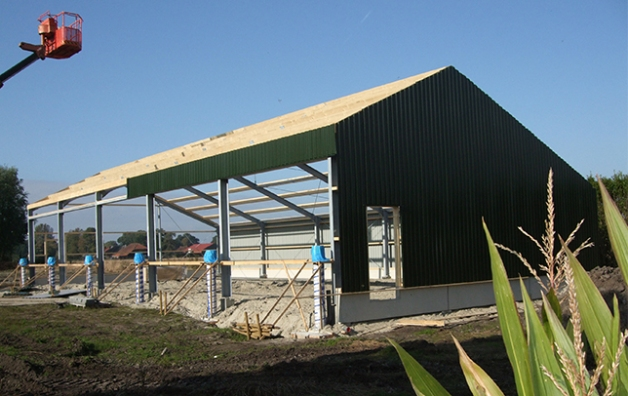 Aoc Terra Groningen : New shed for aoc terra rotocoat