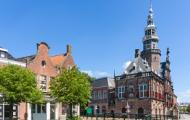 Bolsward town hall tower saved