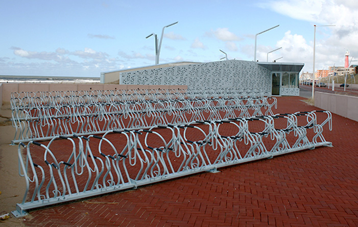 Scheveningen bike shelter