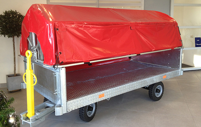 Baggage trailers