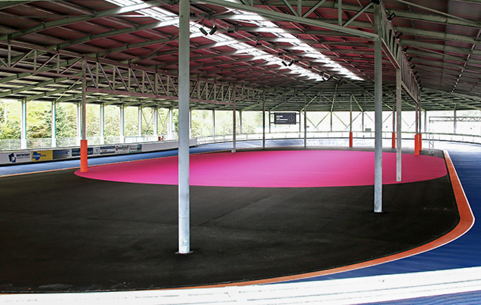 Indoor inline-skating centre