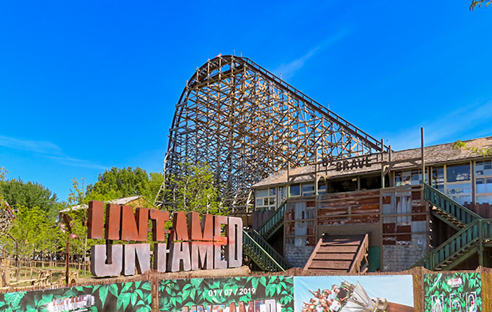 Making of Untamed, Walibi